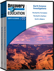 Earth Science Investigations 5-Pack DVD