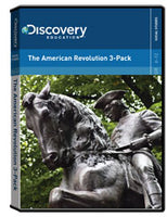 The American Revolution 3-Pack DVD