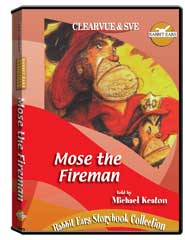 Rabbit Ears Storybook Collection: Mose the Fireman DVD