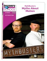 MythBusters: Myths About Motion DVD