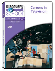 Careers in Arts: Careers in Television DVD