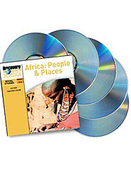Africa: People  and  Places 5-Pack CD-ROM
