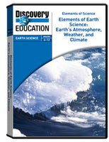 Earth's Atmosphere, Weather, and Climate DVD