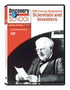 20th Century Biographies: Scientists and Inventors DVD