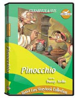 Rabbit Ears Storybook Collection: Pinocchio DVD