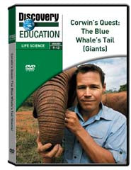 Corwin's Quest: The Blue Whale's Tail (Giants) DVD