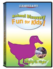 Animal Discovery Fun for Kids: Friends in Flight DVD
