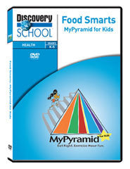 Food Smarts: MyPyramid for Kids DVD