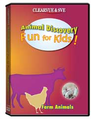 Animal Discovery Fun for Kids: Farm Animals DVD