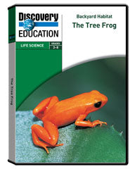 Backyard Habitat: The Tree Frog DVD