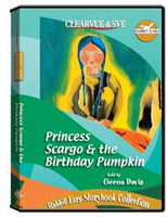 Rabbit Ears Storybook Collection: Princess Scargo  and  the Birthday Pumpkin DVD