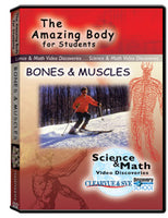 The Amazing Body for Students: Bones  and  Muscles DVD