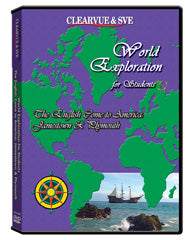 World Exploration for Students: The English Come to America: Jamestown  and  Plymouth DVD