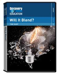 Time Warp: Will it Blend? DVD