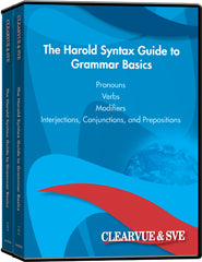 The Harold Syntax Guide to Grammar Basics 8-Pack DVD