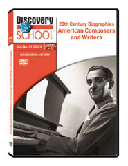 20th Century Biographies: American Composers and Writers DVD