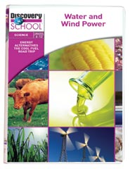 Energy Alternatives: The Cool Fuel Road Trips: Water and Wind Power DVD