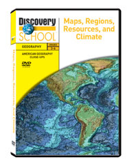 American Geography Close-ups: Maps, Regions, Resources, and Climate DVD