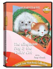 Rabbit Ears Storybook Collection: The Gingham Dog  and  the Calico Cat DVD