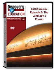 EXTRA Spanish Episode 8: The Landlady's Cousin DVD