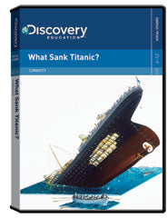 Curiosity: What Sank Titanic? DVD