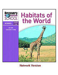 Habitats of the World - Network CD-ROM