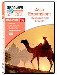 Asia's Expansion: Treasures and Travels DVD