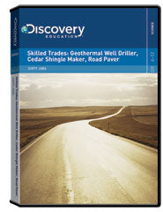 Dirty Jobs: Skilled Trades: Geothermal Well Driller, Cedar Shingle Maker, Road Paver  DVD