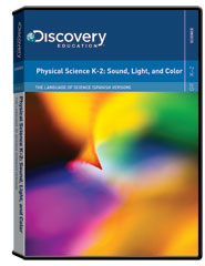 The Language of Science (Spanish Version): Physical Science K-2: Sound, Light, and Color DVD
