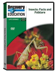 Insects: Facts and Folklore DVD