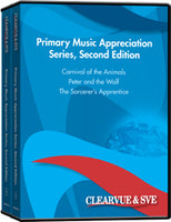 Primary Music Appreciation Series, Second Edition 5-Pack DVD