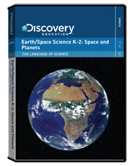 The Language of Science: Earth/Space Science K-2: Space and Planets   DVD