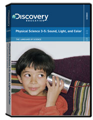 The Language of Science: Physical Science 3-5: Sound, Light, and Color DVD