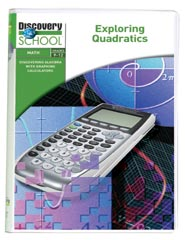 Discovering Algebra With Graphing Calculators: Exploring Quadratics DVD