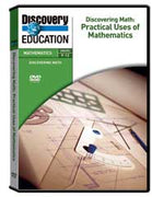 Discovering Math: Practical Uses of Mathematics 2-Pack DVD