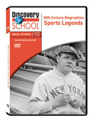 20th Century Biographies: Sports Legends DVD