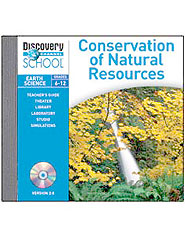 Conservation of Natural Resources CD-ROM