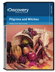 America: Facts versus Fiction: Pilgrims and Witches DVD