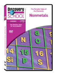 The Periodic Table of the Elements: Nonmetals DVD