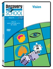 Health Investigations With Dr. Know: Vision DVD