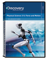 The Language of Science:  Physical Science 3-5: Force and Motion DVD