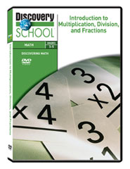 Introduction to Multiplication, Division, and Fractions DVD