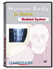 Human Body for Students: Skeletal System DVD