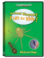 Animal Discovery Fun for Kids: Backyard Bugs DVD
