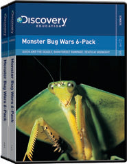 Monster Bug Wars 6-Pack DVD