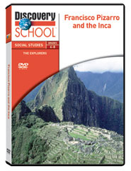 The Explorers: Francisco Pizarro and the Incas DVD