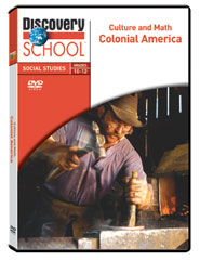 Culture and Math: Colonial America DVD