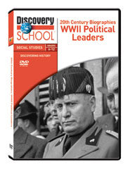 20th Century Biographies: WWII U.S. Political Leaders DVD