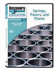 How It's Made: Springs, Pavers, and Pianos DVD