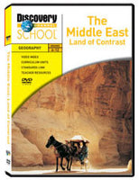 The Middle East: Land of Contrast DVD